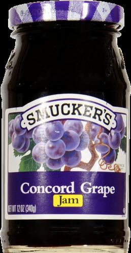 Smucker's Concord Grape Jam Spread Perspective: front