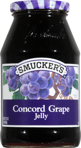 Smucker's Concord Grape Jelly Perspective: front