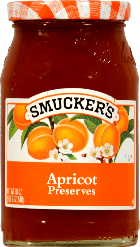 Smucker's Apricot Preserves Perspective: front