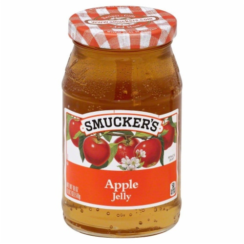 Smucker's Apple Jelly Spread Perspective: front