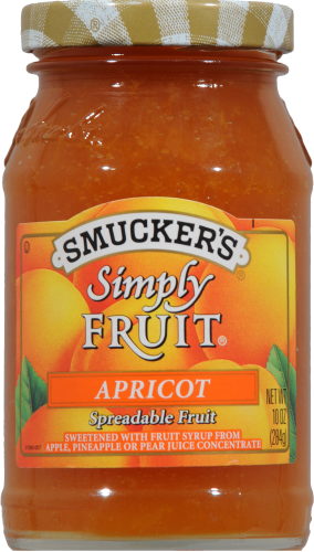 Smucker's Simply Fruit Apricot Spread Perspective: front