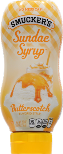 Smucker's Butterscotch Sundae Syrup Perspective: front