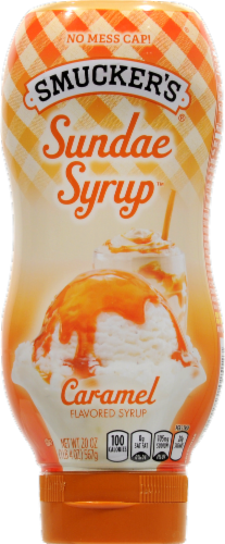 Smucker's Caramel Sundae Syrup Perspective: front