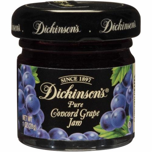 Dickinson Grape Jam, 1 Ounce -- 72 per case. Perspective: front