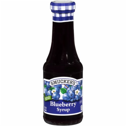 Smuckers Blueberry Syrup, 12 Fluid Ounce -- 6 per case. Perspective: front