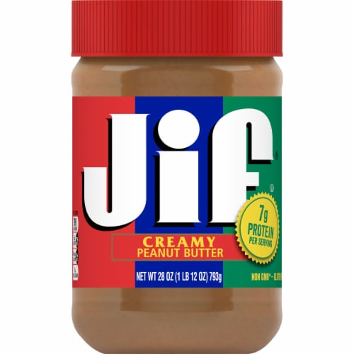 Jif Creamy Peanut Butter Perspective: front
