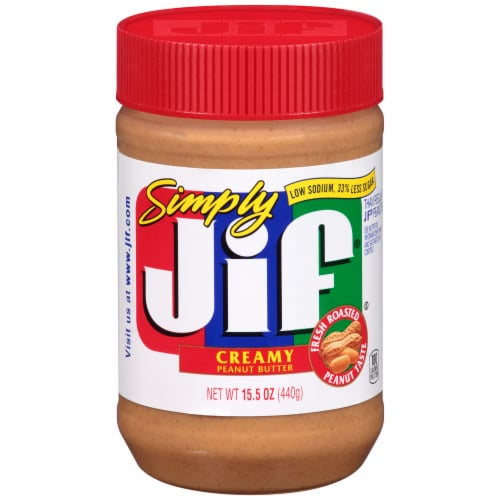 Jif Simply Creamy Peanut Butter Perspective: front