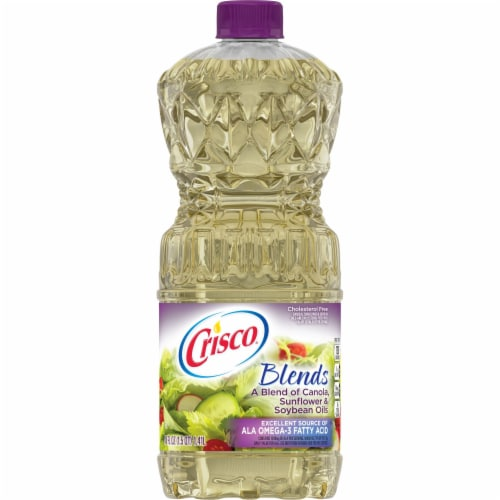 Crisco Natural Blend Oil Perspective: front