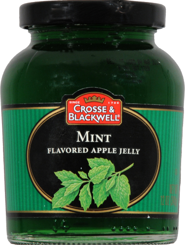 Cross & Blackwell Mint Flavored Apple Jelly Perspective: front
