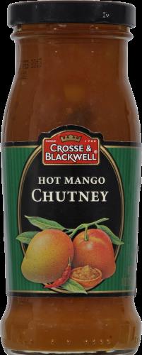 Crosse & Blackwell Hot Mango Chutney Perspective: front