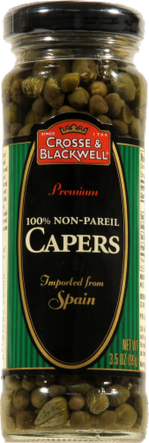 Crosse & Blackwell Non-Pareil Capers Perspective: front