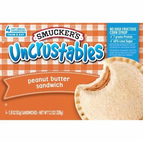 Smucker's Peanut Butter Uncrustables Perspective: front