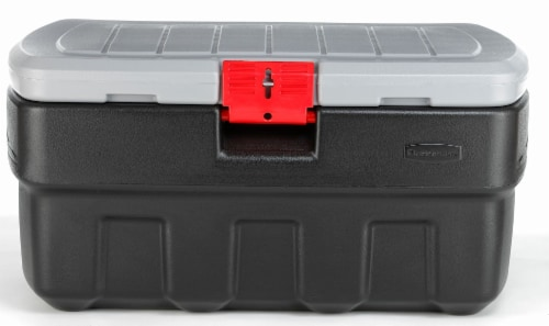 Rubbermaid ActionPacker® Storage Tote - Black Perspective: front
