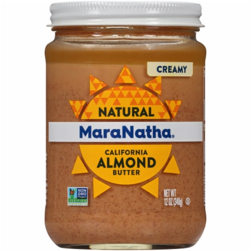 MaraNatha Creamy No Stir Almond Butter Perspective: front