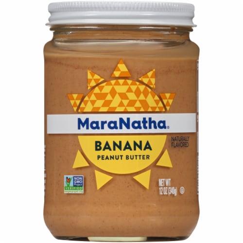MaraNatha Creamy Banana Peanut Butter Perspective: front