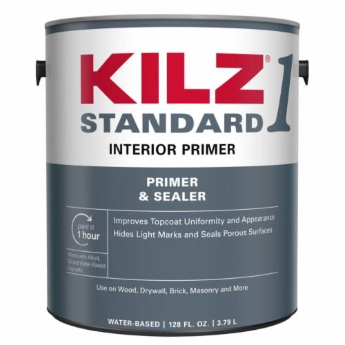KILZ® 1 STANDARD White Matte Primer & Sealer Perspective: front
