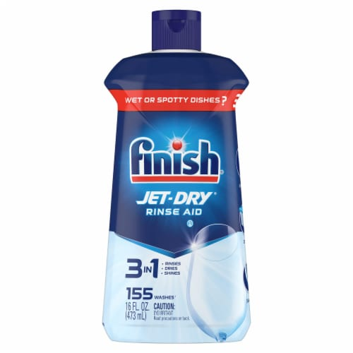 Finish Jet Dry Rinse Aid Perspective: front