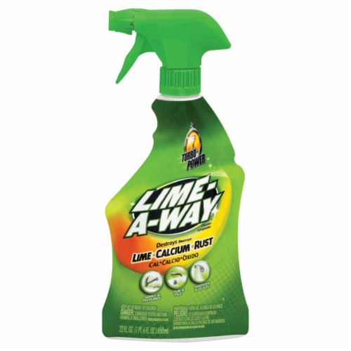 Lime-a-Way® Turbo Power Bathroom Cleaner Perspective: front