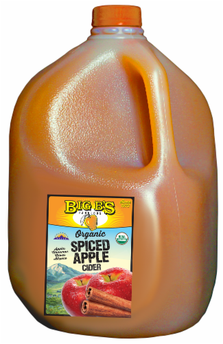 Big B's Organic Spiced Apple Cider Perspective: front