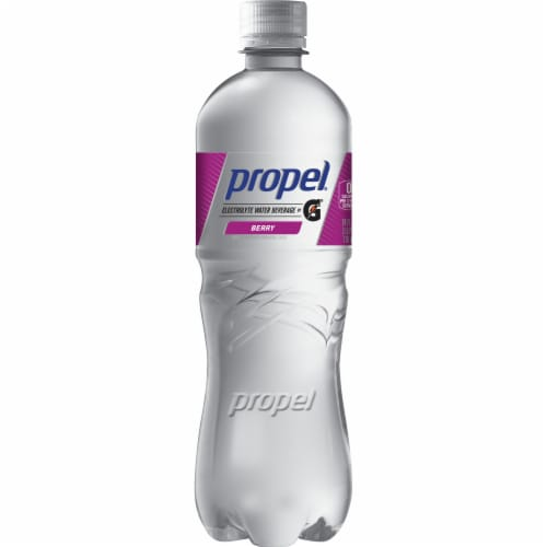 Propel Water Zero Calorie Sports Drinks Enhanced with Electrolytes Vitamins C & E - Berry Perspective: front