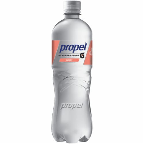 Propel Water Zero Calorie Sports Drinks Enhanced with Electrolytes  Vitamins C & E Perspective: front