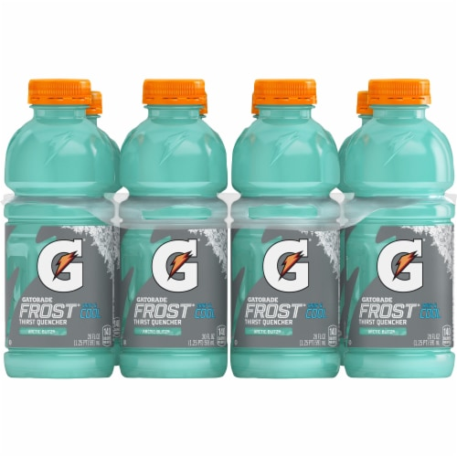 Gatorade Frost Arctic Blitz Thirst Quencher Electrolyte Enhanced Sports Drinks Perspective: front