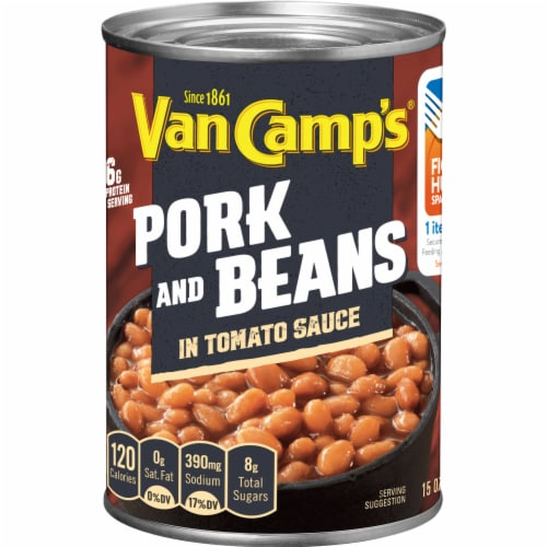 Van Camp's Pork and Beans in Tomato Sauce Perspective: front