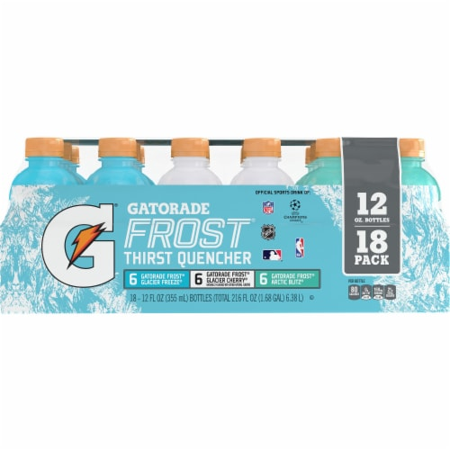 Gatorade Frost Thirst Quencher Variety Pack Electrolyte Enhanced Sports Drinks Perspective: front
