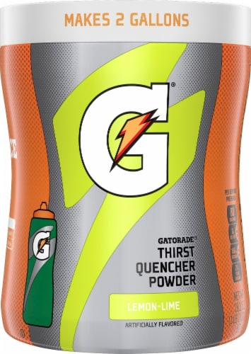Gatorade Perform Lemon-Lime Thirst Quencher Powder Sports Drinks Mix Perspective: front