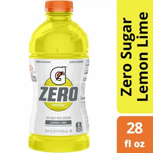 Gatorade® G Zero Sugar Thirst Quencher Lemon-Lime Sports Drink Perspective: front