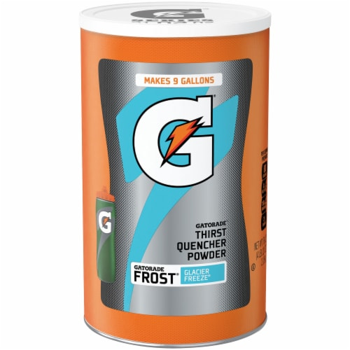 Gatorade Glacier Freeze Thirst Quencher Powder Perspective: front