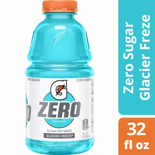 Gatorade G Zero Sugar Glacier Freeze Electrolyte Enhanced Sports Drink Perspective: front