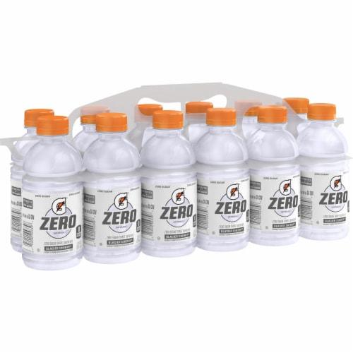 Gatorade G Zero Sugar Glacier Cherry Electrolyte Enhanced Sports Drink Perspective: front