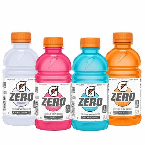 Gatorade G Zero Thirst Quencher Variety Pack Perspective: front