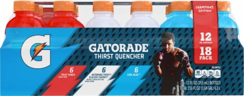 Gatorade Thirst Quencher Perform Variety Pack Electrolyte Enhanced Sports Drinks Perspective: front