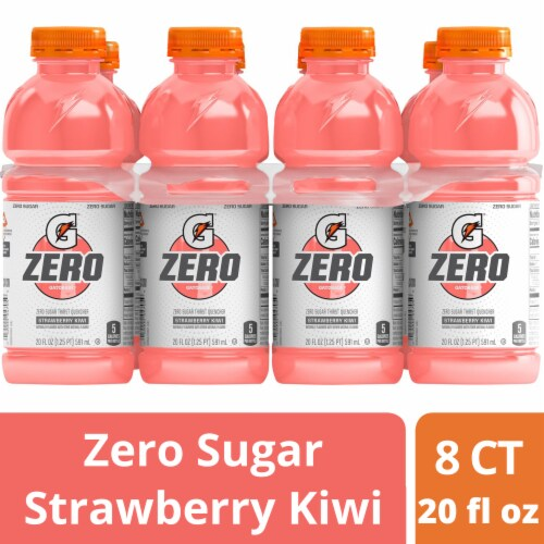 Gatorade Zero Strawberry Kiwi Sports Drink Perspective: front
