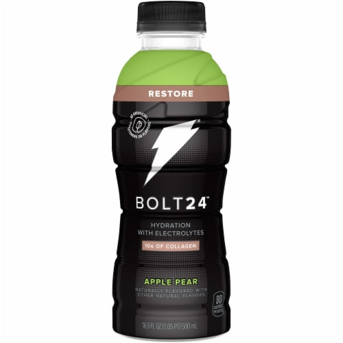 Bolt24 Apple Pear Hydration with Electrolytes Perspective: front