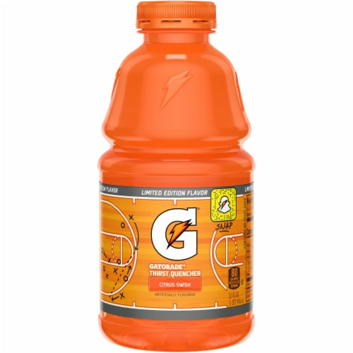Gatorade Citrus Swish Thirst Quencher Sports Drink Perspective: front
