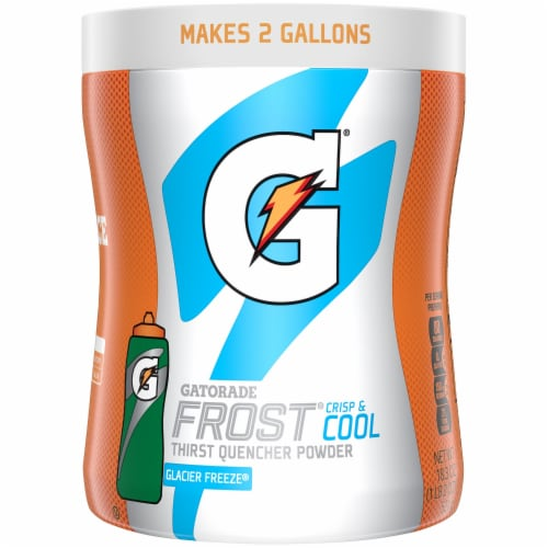Gatorade Frost Glacier Freeze Thirst Quencher Powder Perspective: front