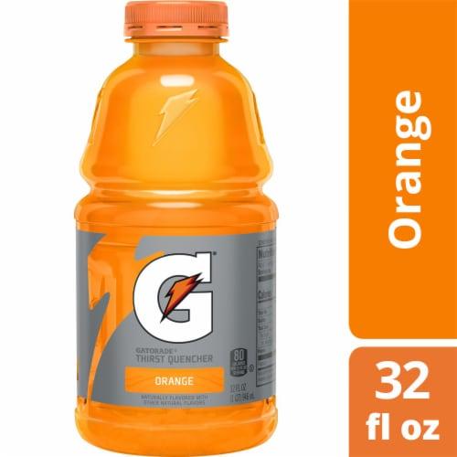 Gatorade Thirst Quencher Orange Sports Drink Perspective: front
