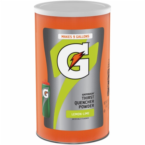 Gatorade Lemon-Lime Thirst Quencher Powder Perspective: front