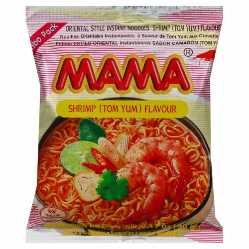 Mama Oriental Style Instant Noodles Perspective: front
