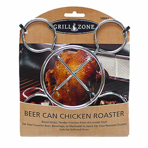 Blue Rhino 00345TV Beer Can Chicken Cooker Perspective: front