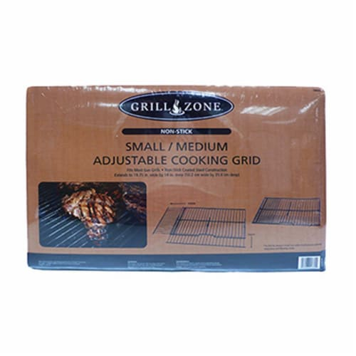 Blue Rhino 00369TV Non-Stick BBQ Cooking Grid-Rock Grate Perspective: front