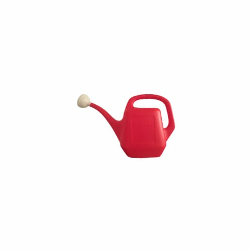 Bloem 210596 2 gal True Value Watering Can, Plastic - Red Perspective: front