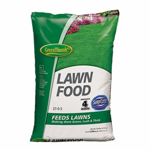 Knox Fertilizer 225484 Green Thumb 5000 sq ft. Coverage Lawn Food Perspective: front