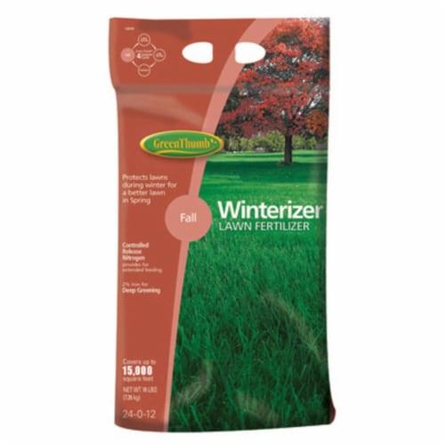 Knox Fertilizer 225483 GT 15M Winterizer Lawn Fertilizer Perspective: front
