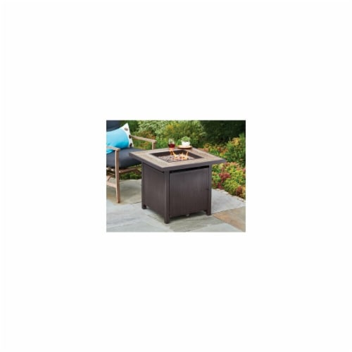 Shinerich Industrial 227770 Four Seasons 30 in. Gas Fire Pit Perspective: front