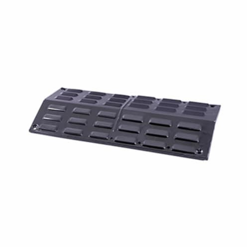 Mr. Bar-B-Q Products 257111 Grill Zone Porcelain Coated Steel Heat Distribution Plate Perspective: front