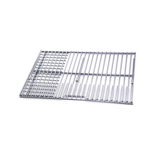 Mr. Bar-B-Q Products 257112 Grill Zone Chrome Cooking Grid & Rock Grate, Medium Perspective: front